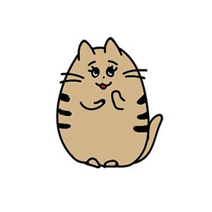 irohanipetキャラクター猫